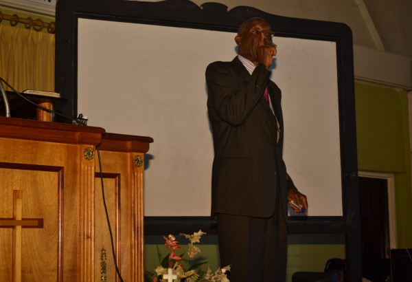 Speaking as the oracles of God - Bro. Carl Mitchell